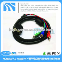 VGA RCA Cable For Computer PC HDTV